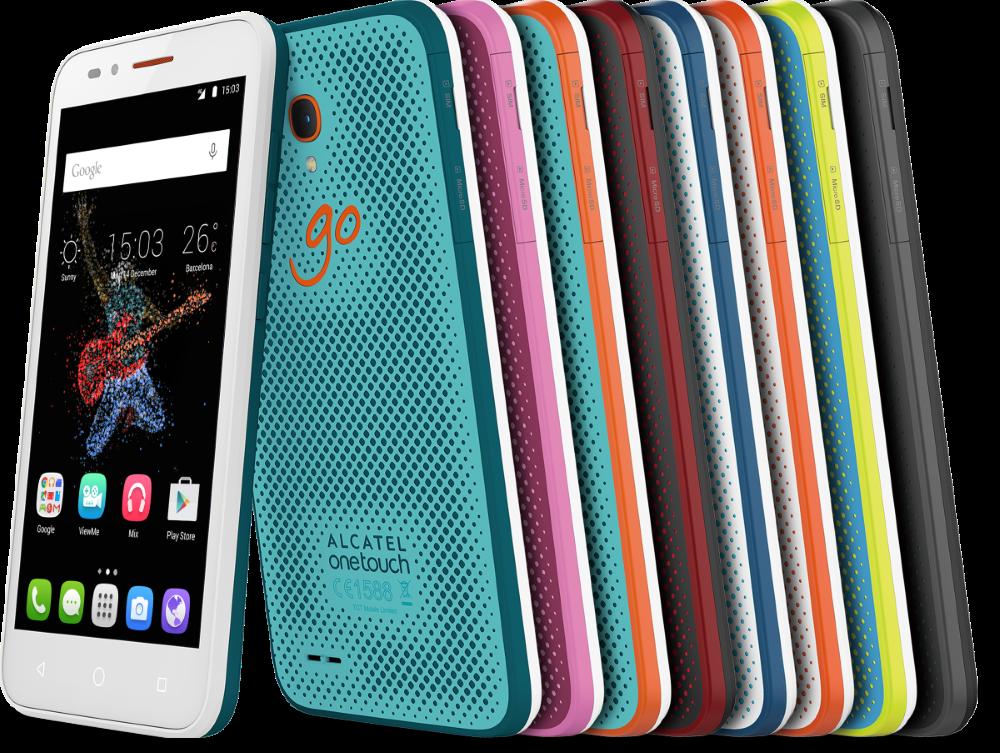 Smartphone e Smartwatch per la GO Family di Alcatel