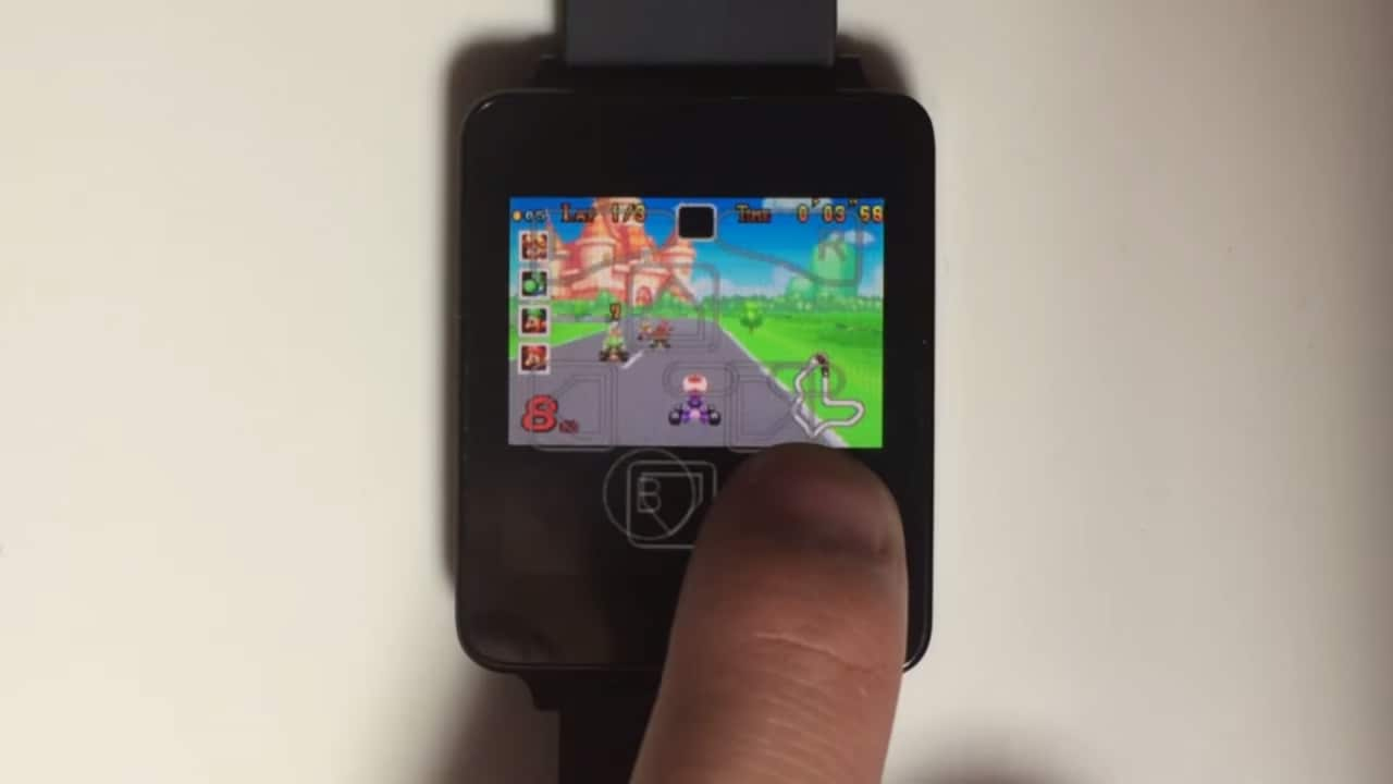 GameBoy Advance Android Wear