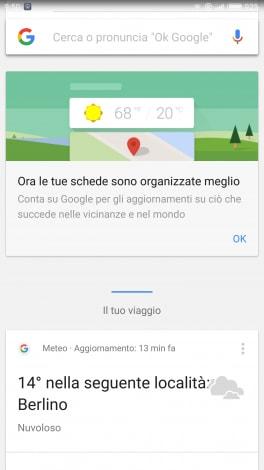 Google App new screenshot - 1