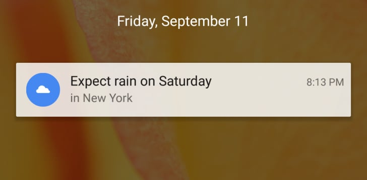 Google Now - nuove notifiche - 1