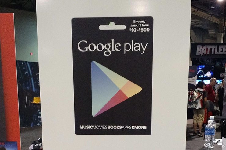 Google Play Carta Regalo variabile