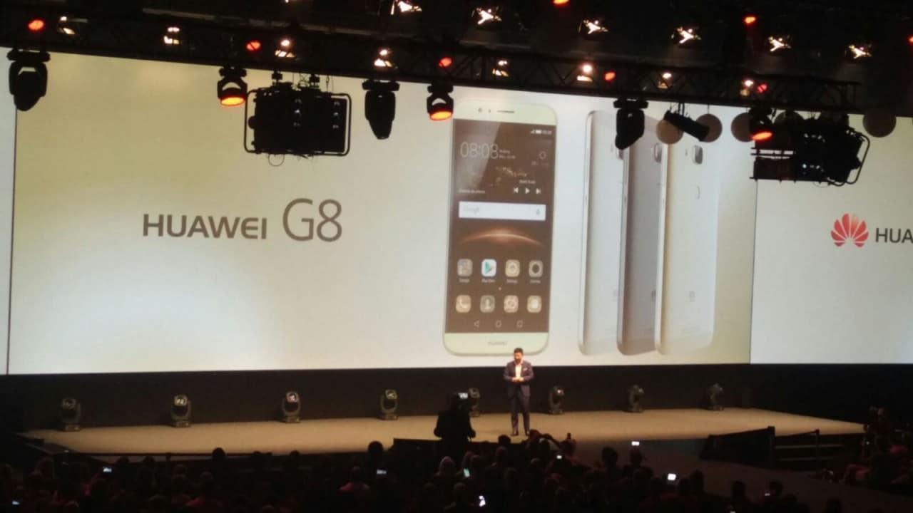 Huawei G8 ufficiale