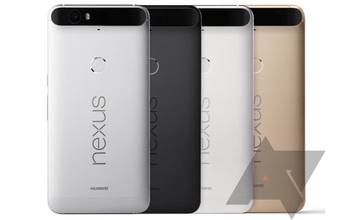 Huawei Nexus 6P colori