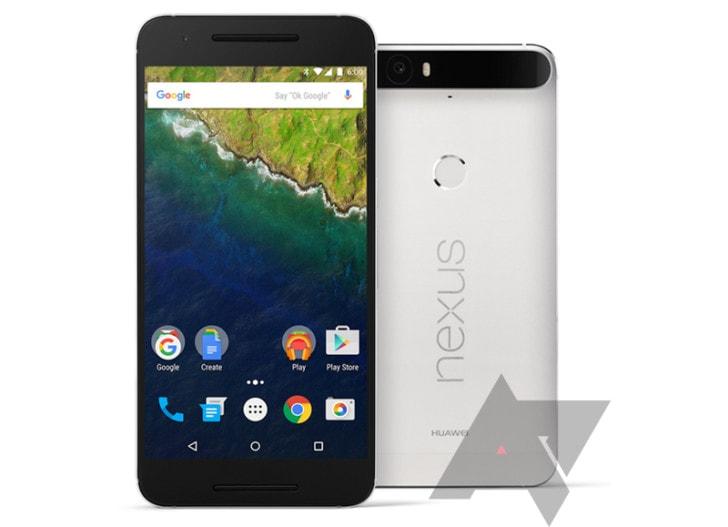 Ancora dettagli su Huawei Nexus 6P: schermo e dimensioni (aggiornato: fotocamera e RAM)