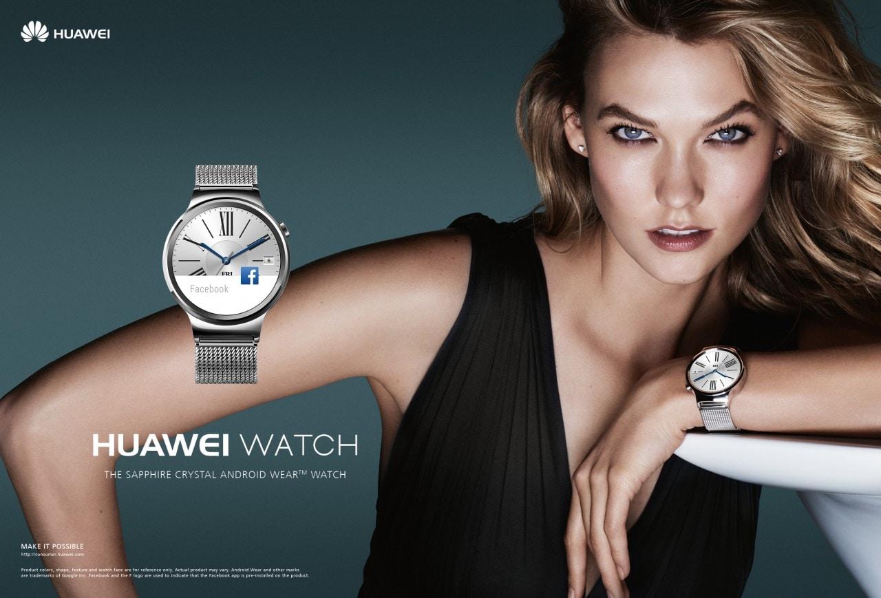 Il bellissimo Huawei Watch è ufficiale e arriverà a breve (foto e video)