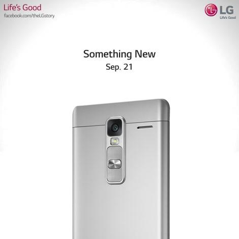 LG Class: un nuovo smartphone elegante, in arrivo il 21 settembre