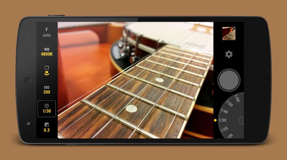 Manual Camera porta lo scatto RAW su S6 e la burst mode