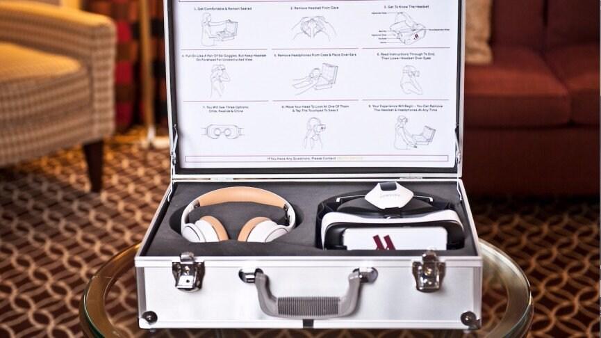 Samsung Gear VR diventa un servizio in camera nella catena Marriot Hotel