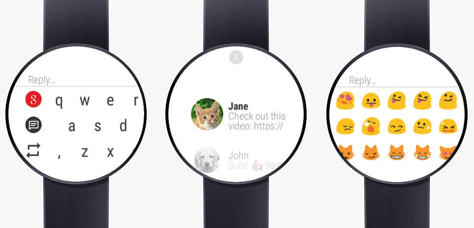 Messages for Android Wear (head)