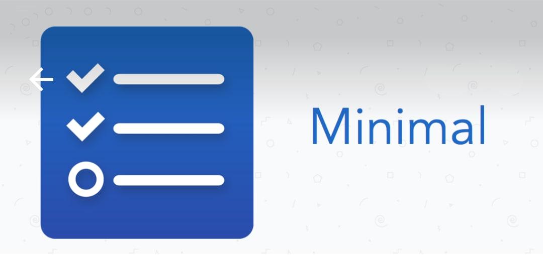 Promemoria semplici e minimali: Minimal To Do (foto)