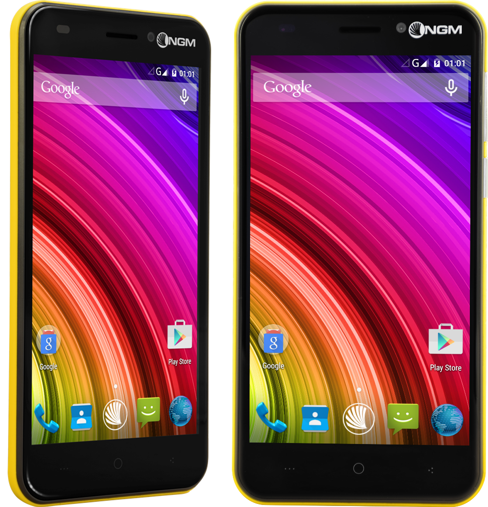 NGM You Color M502: uno smartphone con ben 21 cover di colori differenti