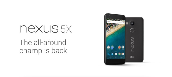 Nexus 5X Leaked slide - 5