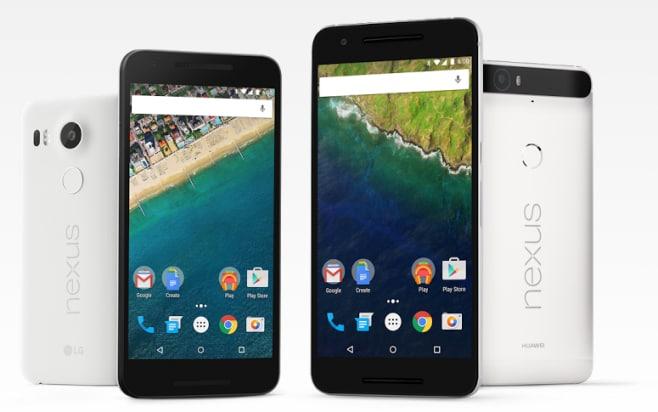 Nexus 5x 6p