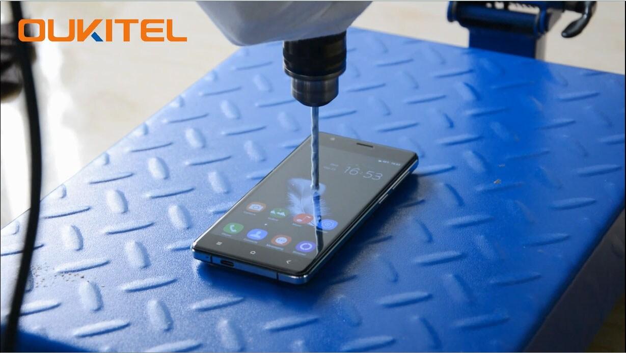 OUKITEL K4000 drill test