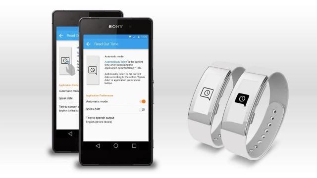 """""""Ora a voce alta"""" per Sony SmartBand Talk arriva sul Play Store (foto)"""