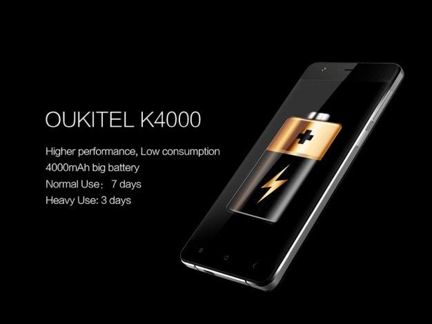 Oukitel K4000 - 1