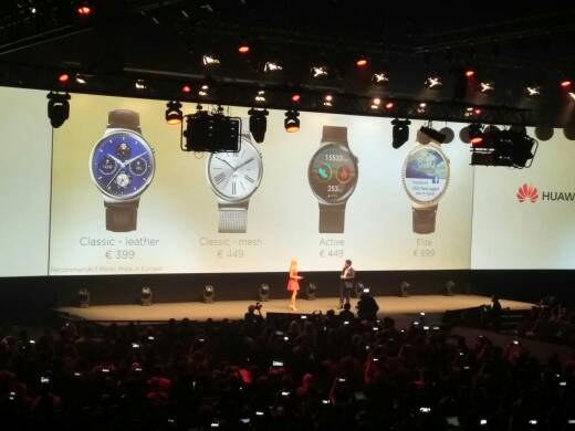 Presentazione Huawei Watch
