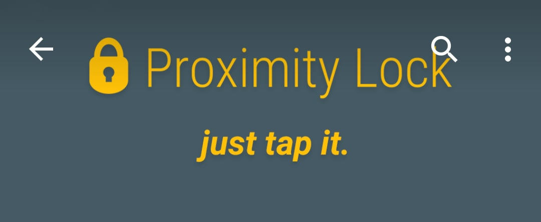 Proximity Lock (1)