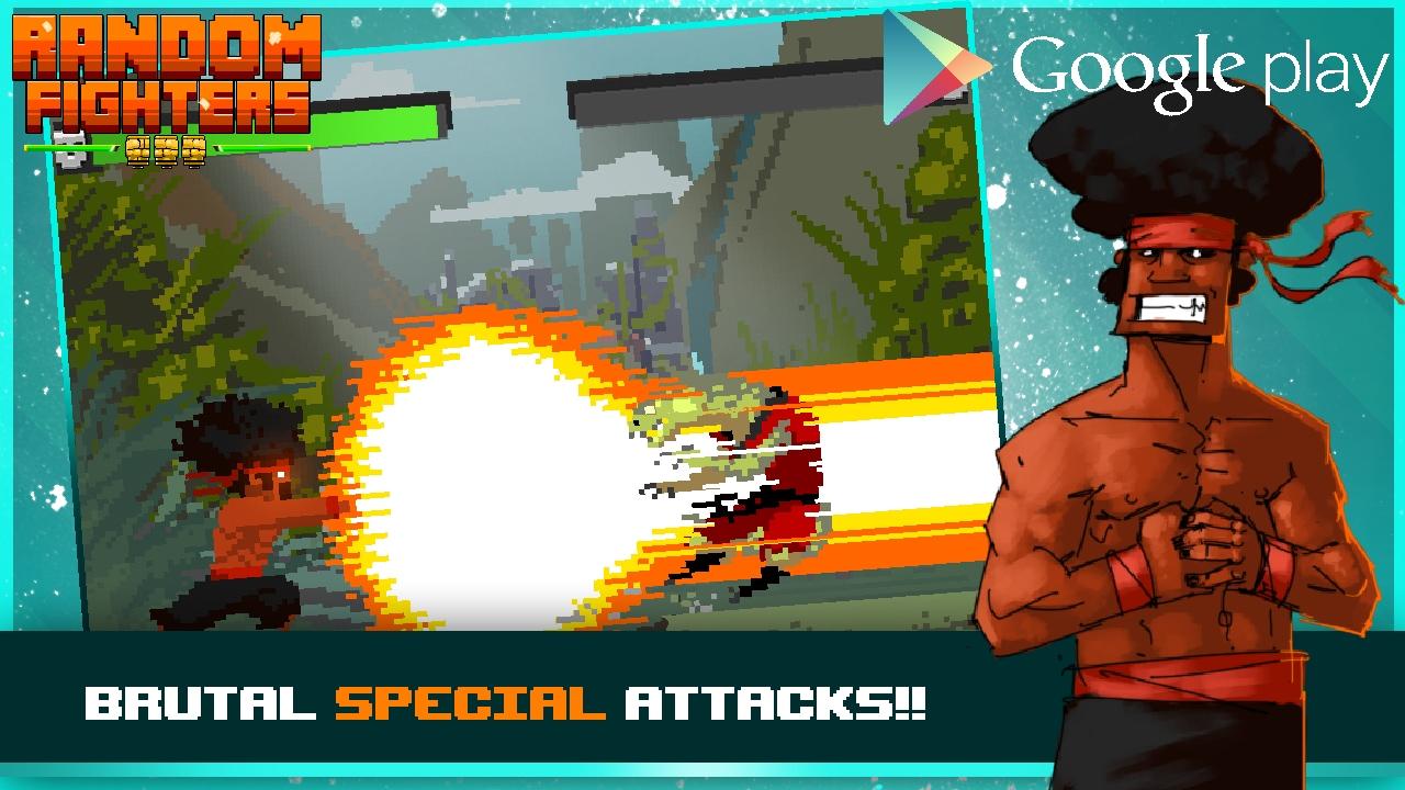 Random Fighters incrocia i picchiaduro, i puzzle game e pixel art di alta qualità