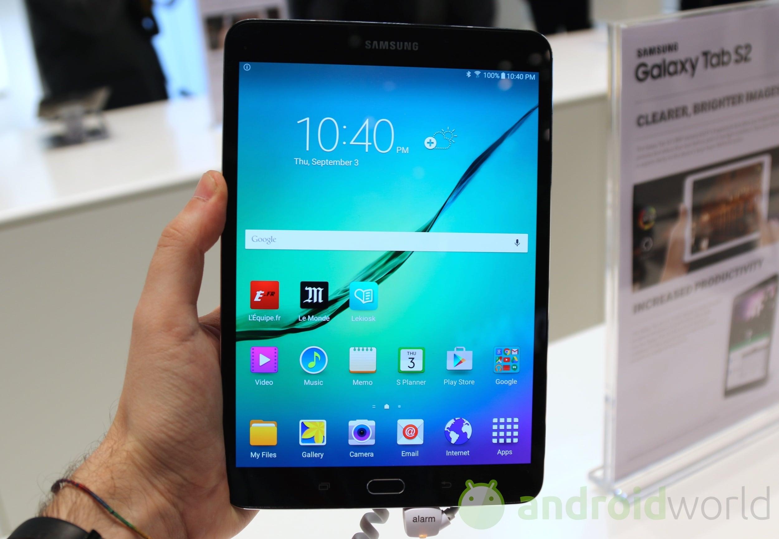 Samsung Galaxy Tab S2 – 1