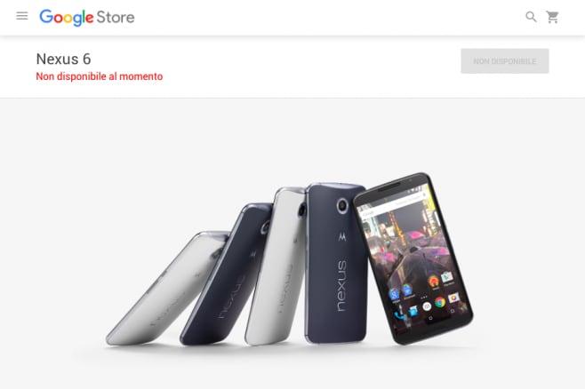 Motorola Nexus 6 - Google Store