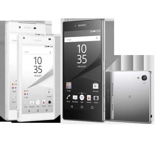 Sony pubblica i prezzi della gamma Xperia Z5 (e non vi piaceranno!)