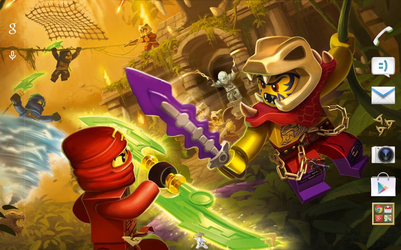 Sony presenta un tema ispirato a LEGO Ninjago Tournament (foto)