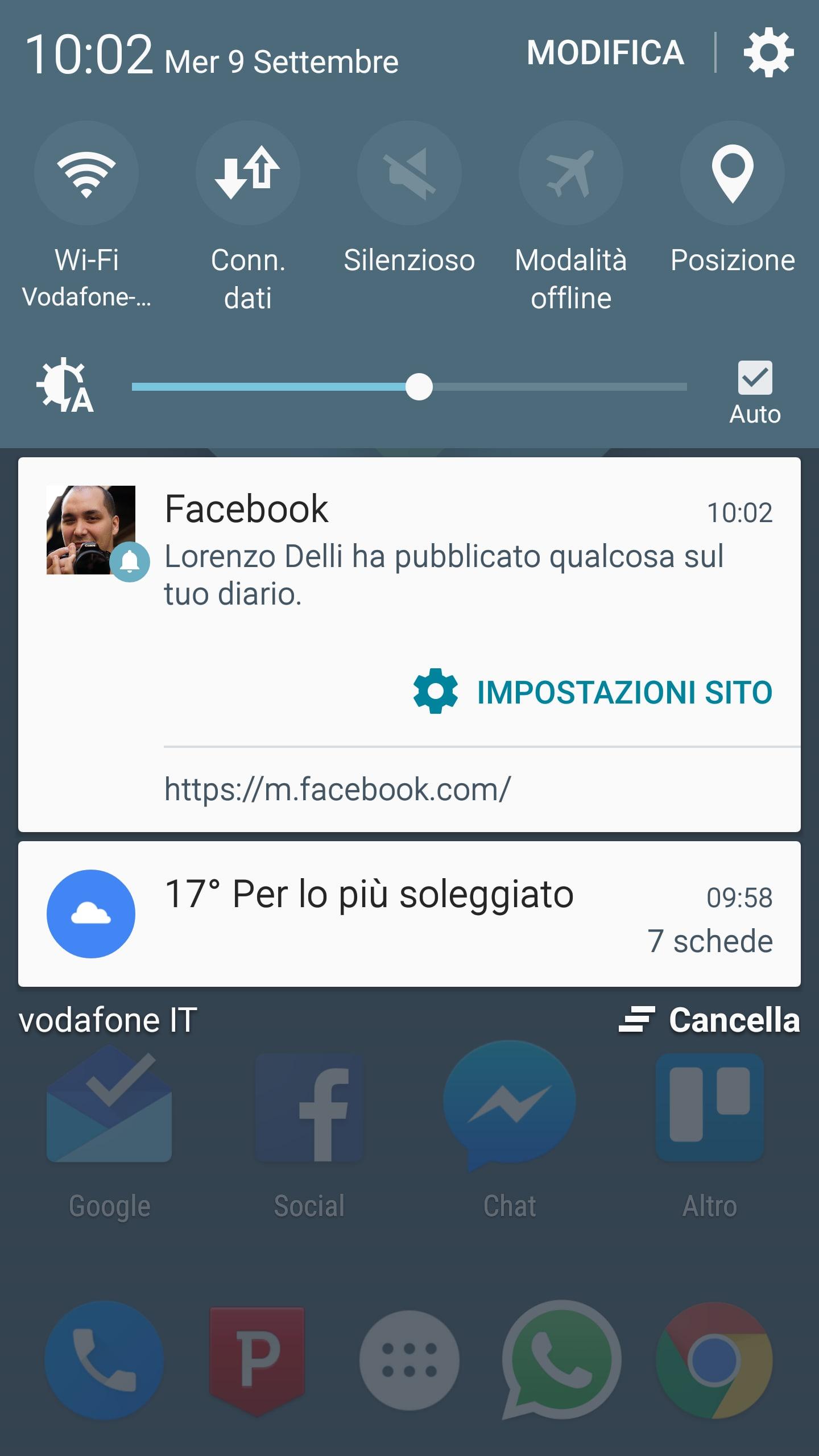 facebook notifiche web 2