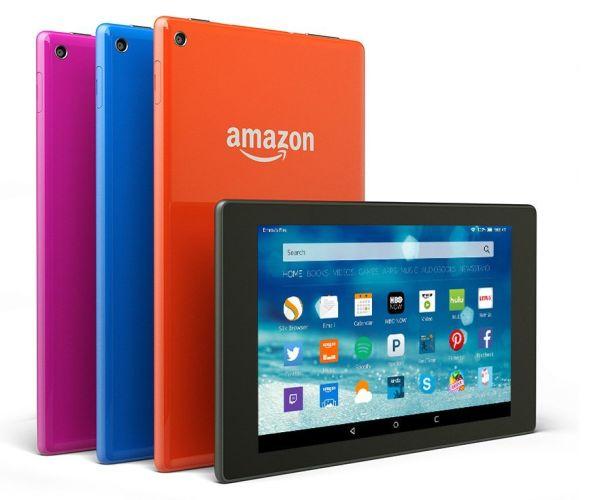 Amazon presenta anche i nuovi tablet Fire HD 8 e 10, ma per ora non in Italia