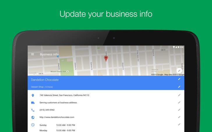 google mybusiness 2.1