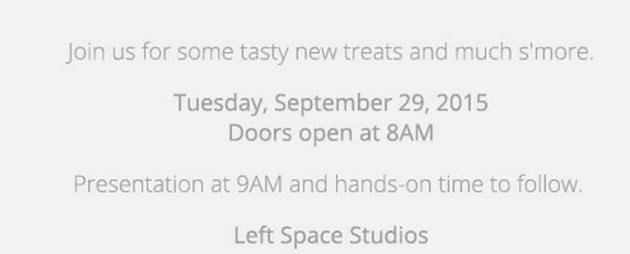 Invito Google Marshmallow Nexus Chromecast 29 settembre 2015