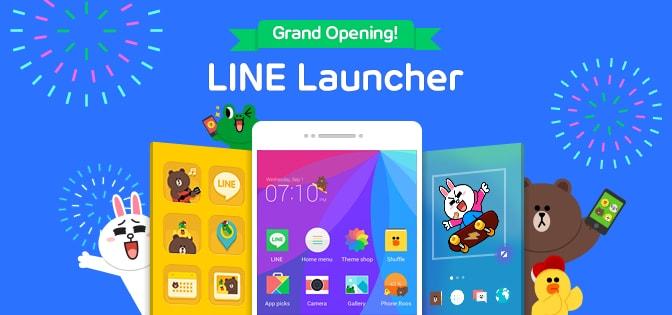 Line lancia il suo launcher personalizzato