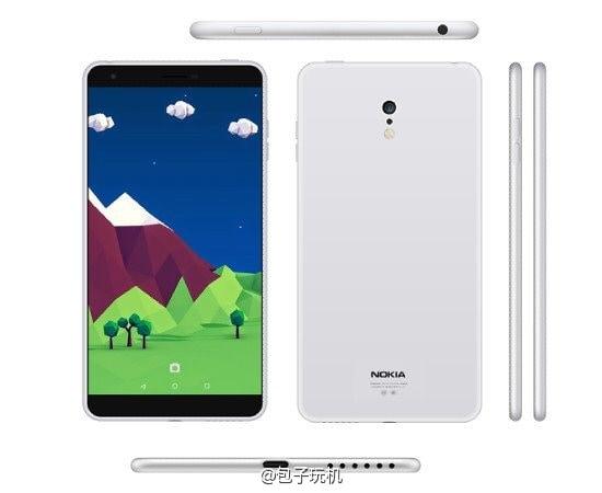 nokia smartphone render 2