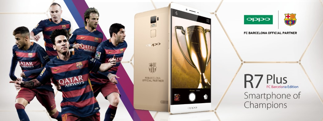 oppo r7 plus barcellona edition