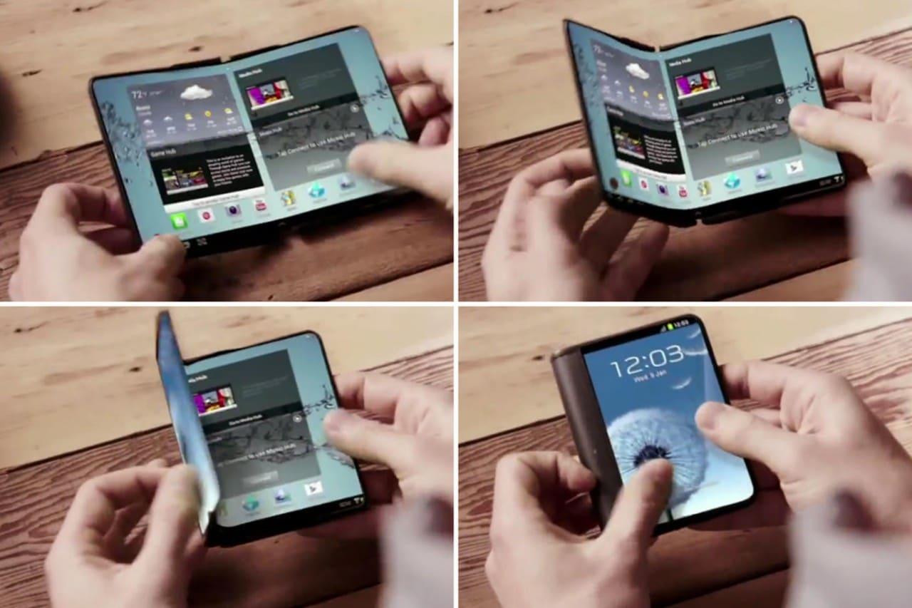 Il primo smartphone pieghevole di Samsung potrebbe arrivare a gennaio 2016 (forse, molto forse...)