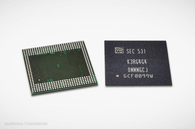 ram 6 GB samsung