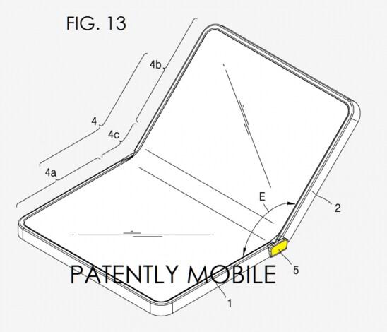 samsung brevetto schermo piegabile