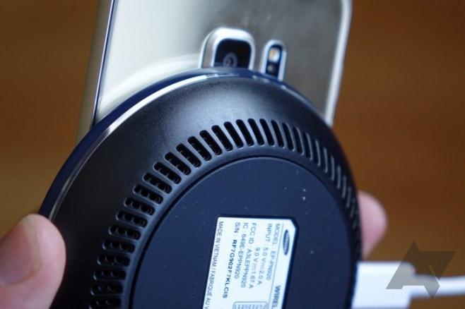 samsung caricatore wireless con ventole