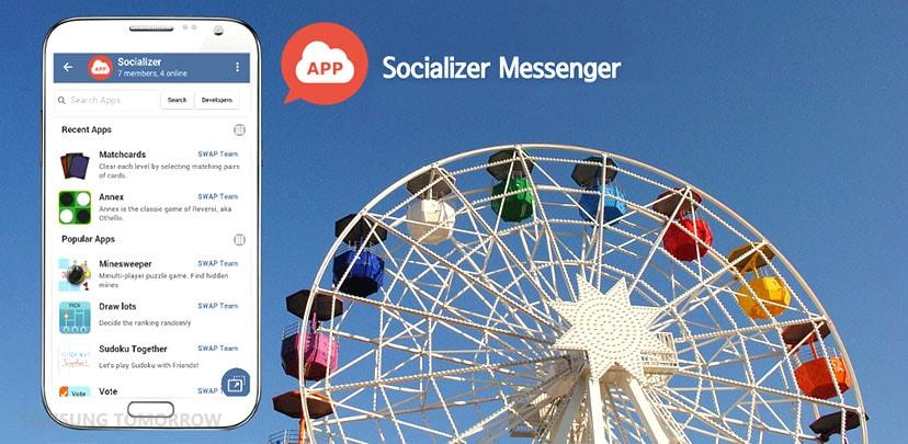 Samsung personalizza Telegram e lo chiama Socializer Messenger (video)