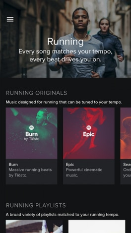 spotify runnin android