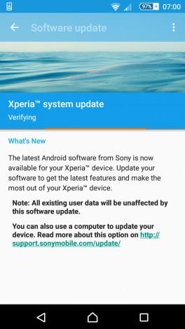 update sony - 1
