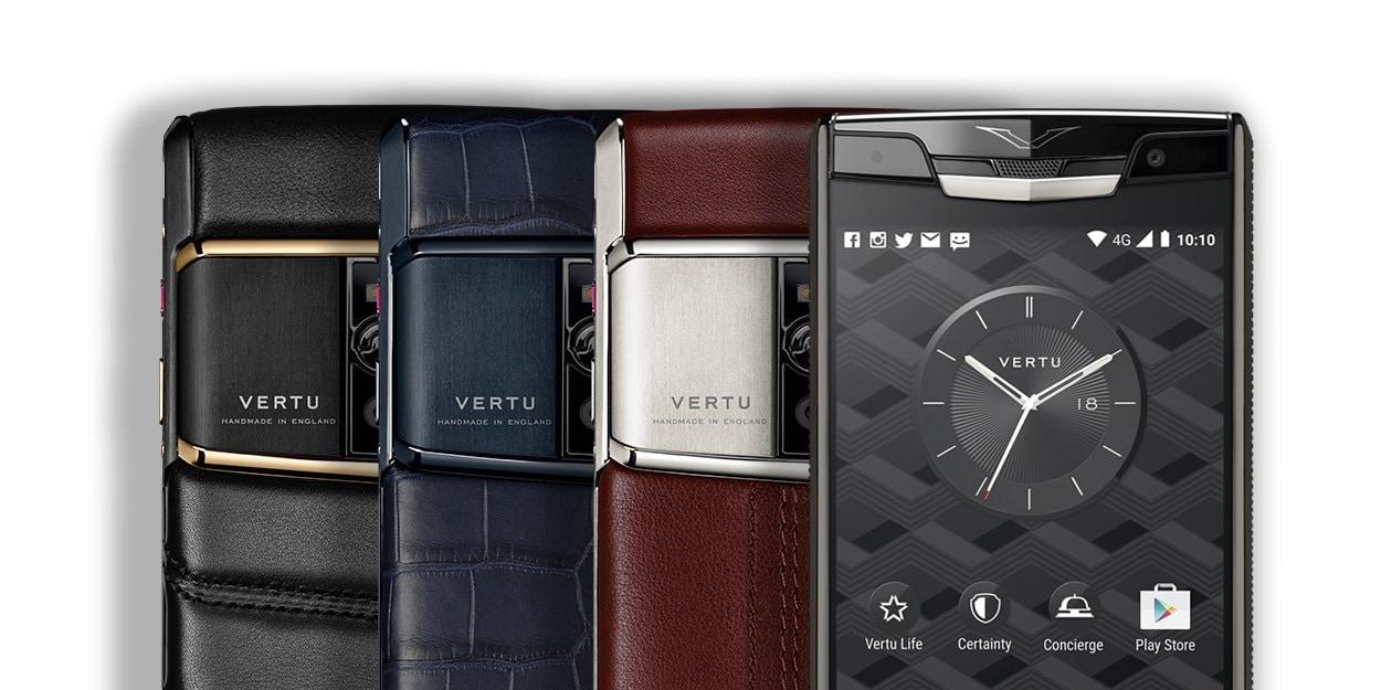 Vertu Signature Touch, il top di gamma fatto a mano a partire da 8.400€ (foto)