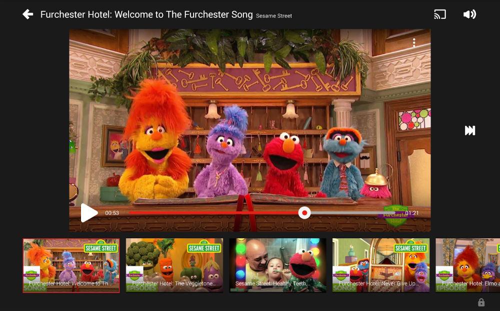YouTube Kids aggiunge il supporto a Chromecast