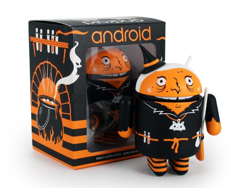 Android per Halloween si veste da strega verrucosa! (foto)