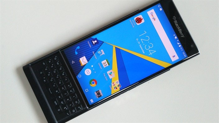 Le prime specifiche ufficiali di BlackBerry Priv