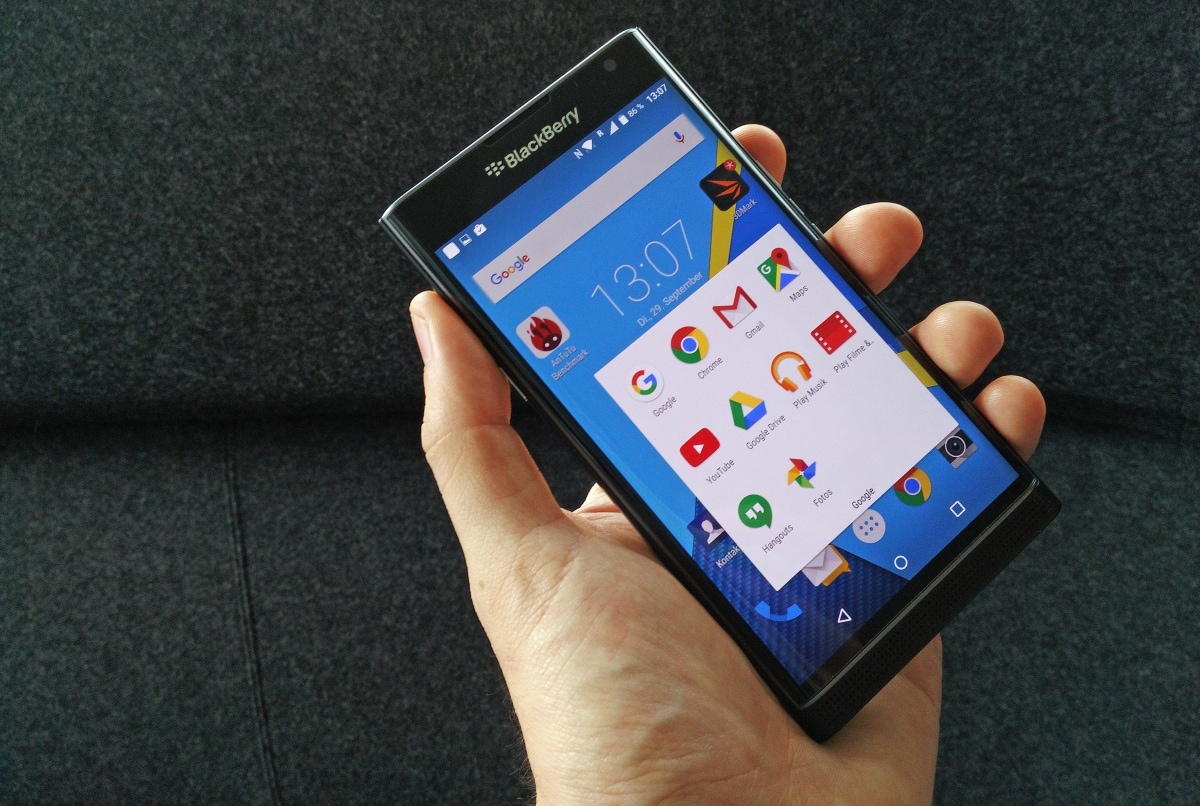BlackBerry Priv hands-on - 7