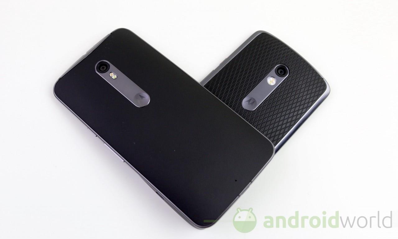 Confronto Moto X Play - Style - 6