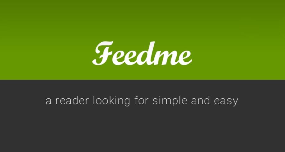 Un client per Feed RSS chiaro, semplice e gratuito: FeedMe (foto)