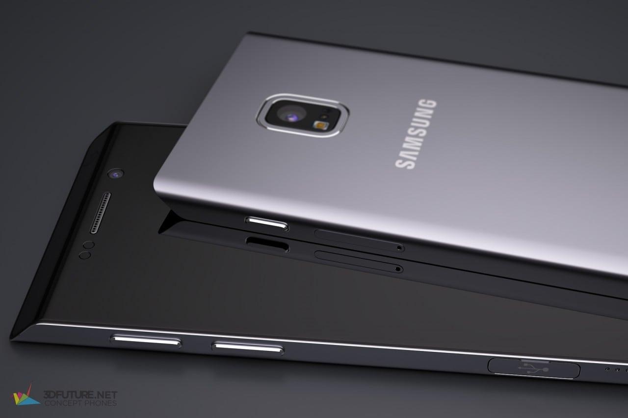 Galaxy S7 concept render - 4