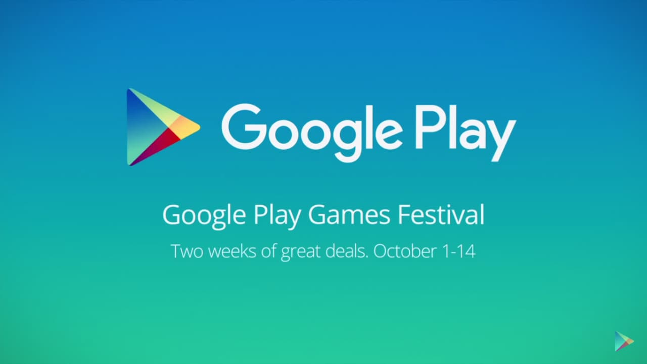 Google Play Games Festival Title